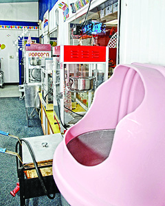 Popcorn and candy cotton machine rentals | Caro Rental