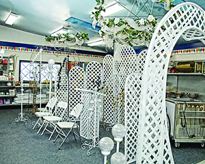 tables & chairs Rentals